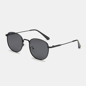 Unisex Retro Small Metal Square Frame Outdoor UV Protection Fashion Sunglasses