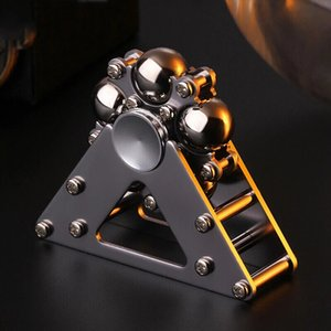 Metal Fidget Spinner Antistress Hand Adult Toys Stress Reliever Toy Gyroscope Desktop for Children Gyro StressToy Gifts 0176