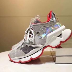 Мода Spikesock Мужчины кроссовки неопреновые красные нижние туфли на открытом воздухе спортивные вечеринки свадебные типовые бренды мужские дизайнерские инструкторы EU35-47 PIU0001