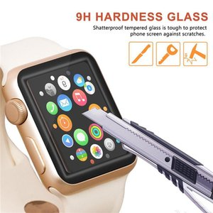 For Apple Watch 6 SE 40mm 44mm 3D Films Curved Tempered Glass Protector Full Coverage iWatch Series 5 2 3 38mm 42mm Screen Film