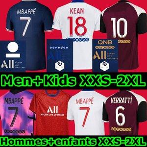 PSG maillot psg maillot de foot Paris Saint Germain MBAPPE Maillots de football 20 21 2020 2021 NEYMAR JR ICARDI hommes + enfants enfant de la chemise Quatrième soccer jerseys