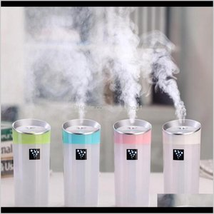 Décor Home Garden Drop Delivery 2021 300Ml Cool Humidifier Portable Travel Usb Mini Ultrasonic Aroma Diffuser Essential Mist Maker Novelty It