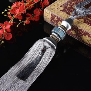 Novelty Items High-End Curtain Tassels Chinese Style Hanging Ball Pack Silk Hook Tassel Spot Living Room Decoration Topiary