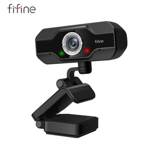 FIFINE 1080P Full HD PC Webcam for USB Desktop & Laptop , Live Streaming with Microphone Video,for Video Calling-K432 210608