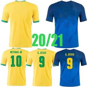 أعلى رجل 21 22 Brasil Neres Coutinho Soccer Jersey Mailleots de Futbol Brazils G.Jesus Fridsino Marcelo 2022 قميص الكبار كرة القدم الفانيلة