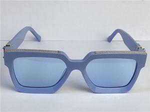 الرجال تصميم النظارات الشمسية المليونير الإطار مربع أعلى جودة في الهواء الطلق الطليع الطليع بالجملة النظارات النظارات مع حالة 96006