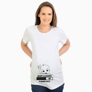 Maternity Tops & Tees 1pcs Set Clothes Baby English Printing T-shirt Summer Short Sleeve Factory Direct Sales