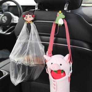 Hook Hanger Universal Car Seat Back Accessories Interior Portable Holder Storage For Bag Purse Cloth Decoration Dropship