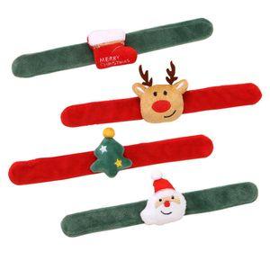 Christmas Wristband Xmas Cartoons Band For Children Gift watch bracelet Decoration Santa Claus toys FreeShipping