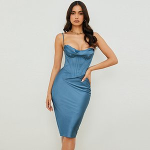 Autumn Female Casual Base Party Dresses Sexy Slim Solid Puff Sleeve Bag Hip Mini Party Nightclub Dresses