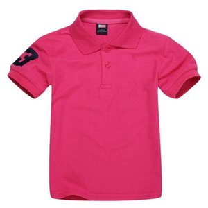 Kids T-Shirt Designer Polo Baby Boy Girls Shirts Embroidery Horse Clothing Children Polos Shirt