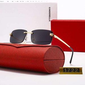 Роскошные Солнцезащитные очки Мужчины Женщины Лучшие Бренд Дизайнер AAA Квадратный Солнечный Стекло Градиент Gradient Цвет 1: 1 Очки Гафас Высокое качество