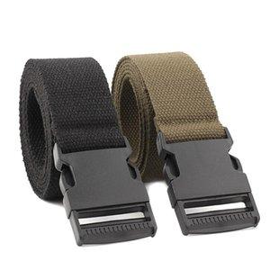 Nylon Belt Male Army Tactical Men Military Waist Canvas Belts Adjustable Hiking Climbing Waistband