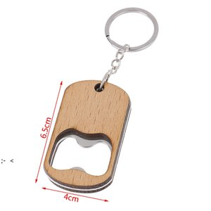 Wooden Bottle Opener Key Chain Wood Unique Creative Gift Can Opener Kitchen Tool Wood Unique Creative Gift BWD10540