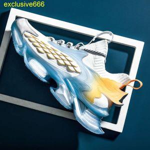 Dunks Men's Basketball sports shoes summer heightening running shock absorption blade breathable leisure