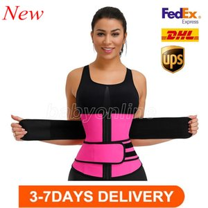 High Quality Men Women Shapers Waist Trainer Belt Corset Belly Slimming Shapewear Adjustable Waist Support FY8084