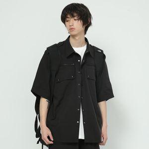 S-6XL 2021 النساء ملابس الرجال المغني bigbang شخصية العمل الملابس الأعلى قميص زائد حجم ازياء قمصان عارضة