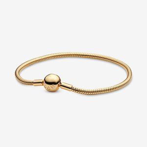 Pandora Me Slim Snake Chaîne Snake Dames Bracelet ronde Bead 925 Sterling Silver Bijoux
