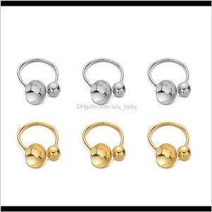 Clasps Hooks 10Pcslot U Shape Stainless Steel Ear Clip No Pierced Blank Clips Fitting Cabochon Cameo Diy Earrings Jewelry Making Zt9Hb Rk2Om