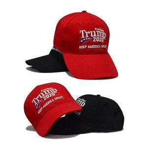 2020 Best Donald Trump Baseball Caps Unisex Men Women Casual Adjustable Mesh Cap Keep Make America Great embroidered baseball hat