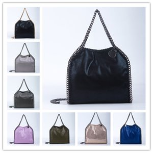 wholesale luxury brand Three Soft Size Shopping Sling Women Leather Stella Bag Mccartney come with 3 silver or gold chians Metals Small PVC Hasp Bdovk