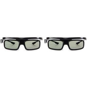 2PCS DLP-Link Otturatore attivo Otturatore 3D GL1800 Eyewear ricaricabile per proiettore R20 R19 R15 P12 R9 R7 Occhiali