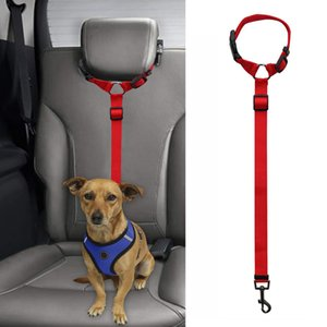 Leashes Pet Car Safety Rope Ring Dog Belt Rear Traction Cg901