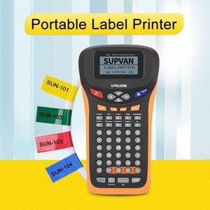 Printers Supvan LP5125M Labeller Laminated Label Sticker Thermal Transfer Labeling Machine Professional Automatic Maker