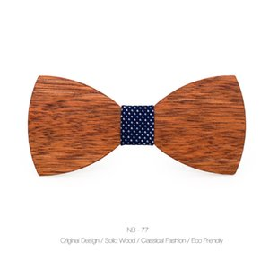 Jaycosin bow cravatta in legno in legno cravatta in legno cravatta in legno cravatta in legno festa business butterfly cravat partito cravat cravat cravatta mens moda66 q2