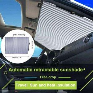 유니버설 자동차 창문 Sunshade Sun Shade Front Rear Shades Visor Windshield 커버 액세서리 Anti UV Protected for1