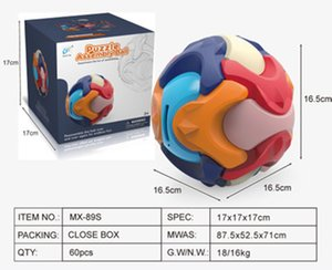 In Stock Puzzle Toys Assembly Ball 3D Child Money Bank,Assembly Building Blocks Educational Gift for Kids Children