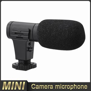 Microphones Stereo Microphone Recording Digital Video DV Camera Interview Studio 3.5mm Camcorder Pography Equipment
