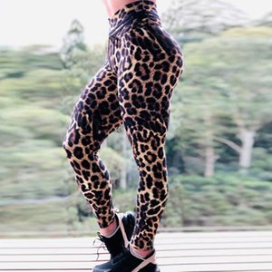 Women Leggings Slim High Waist Elasticity Leggings Leopard Printing Leggins Woman Pants Fashion
