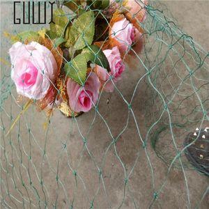1.5 M * 3 Bird Net Plastic Mesh Vine Plants Garden Fence Ornaments Green And Blue Gardening Protection Fencing, Trellis & Gates