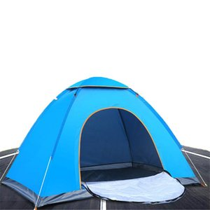 Outdoor Beach Tent Double 2 Person Built Speed Open Camping Ultra Light Park Sunscreen Tents And Shelters
