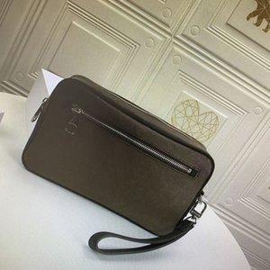 M42838 Herrenmode Classic Canvas Handgelenk Kosmetiktasche Luxus Designer Kasai Brieftaschen Einkaufstaschen Damen Clutch N41664