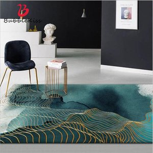 Carpets Bubble Kiss 2021 Area Rug For Living Room Abstract Ink Painting Pattern Thicken Carpet 40cmX60cm 100% Polyester Bedroom Rugs