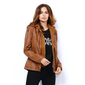 Spring Renaissance Leather Jackets for Women Tops Jas Casaco Feminino Female Motorcycle Basic Jacket Punk Bomber Clothing