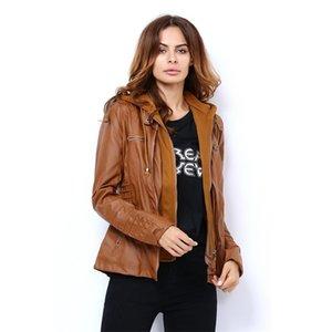 Spring Renaissance Leather Jackets for Women Tops Jas Casaco Feminino Female Motorcycle Basic Jacket Punk Bomber Clothing