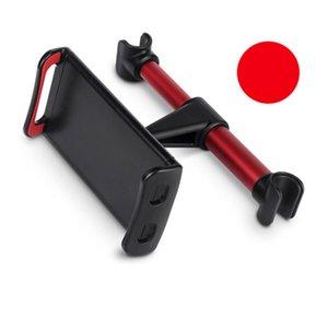 Держатель спинки автокресла Держатель телефона может растянуть и вращать опорный кронштейн для монтажа для мобильных клеток смартфонов