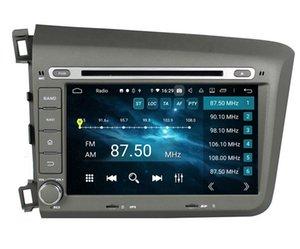 "1280 * 720 DSP PX6 2 DIN 8 ""Android 10 автомобиль DVD Радио GPS навигация для Honda Civic 2012-2015 Bluetooth 5.0 WiFi Carplay Android Auto"