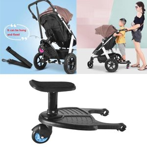 Comfortable Wheeled Board Stroller Ride On Kids Toddler By Pushchair Adaptor Standing Plate For Age 3-7 Child Parts & Accessories