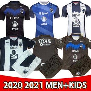 2021 2022 المكسيك Liga 75th طبعة محدودة مونتيري لكرة القدم الفانيلة Rayados Monterey D.Pabon R.Funes Mori Home قميص كرة القدم