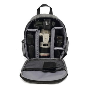 Multi-functional Camera Bag Po Backpack Waterproof Large Capacity Portable Travel DSLR Digital Cameras