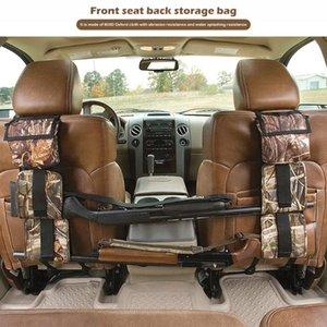 2pcs Car Back Seat Sling Rack Organizer Portable Camo Gun Ammo Sgun Storage Belt Holder Rifle Supplies Bags