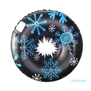 Ski Circle Skiing Board 120cm 4ft PVC Winter Inflatable Snow Circle for Children Adult Outdoor Winter Sport Toys DHL Delivery 7 Days