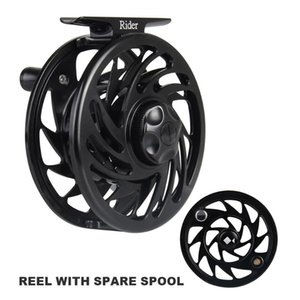 Angler Dream Rider Series 5 6 WT CNC Machined Reel , Super Strong Fishing With Spare Spool Baitcasting Reels