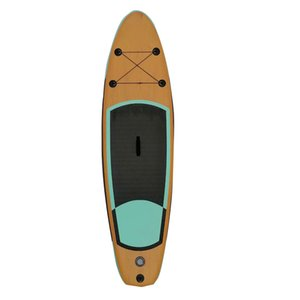 Drop stitch material surfboards stand up bamboo paddle boards with all accessories