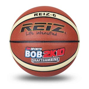 REIZ High Quality Size 6 leather Basketball Balls Outdoor Indoor Mens Training Basket Ball Basquete New Style