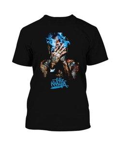 Мужские футболки Wiz Khalifa как можно скорее настенный плакат ди покраска каллиграфии да 68 футболка с капюшоном (1) черный